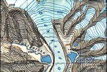 Cartography / Cartografía / Cartographie / 地図作成 / by Yusti Gómez Herrera