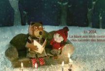 2014 dans la littérature jeunesse / Les cartes de vœux des éditeurs, illustrateurs, auteurs, blogueurs... de la littérature jeunesse