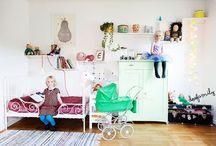 Toddler room.