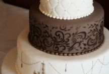 Fondant Cakes / These are cakes that I aspire to create... One day my skill level will be here :)