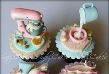 Cupcake Art / Cupcakes designs I'd like to create