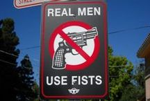 Real Men Use Fists / Funny shit