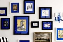 interior design: gallery walls