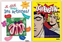 Loisirs créatifs et cahiers d'activités / Quelques uns des cahiers de loisirs créatifs que nous avons chroniqués