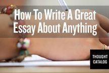 academics: essay