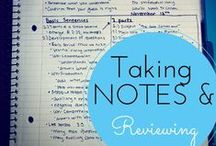 academics: note taking
