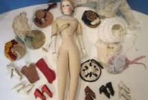 Ideas - Antique Doll Clothing, Accessories, Furniture, Houses / Images/Ideas for antique doll dressing and vignettes.  Focus on French Dolls. / by Christine Harrison