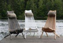 Ecofurn - Ecochair / Unique scandinavian outdoor furniture. Beach, garden etc...
