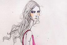 Fashion illüstration