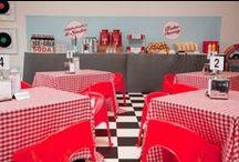 ✩ Retro ✩ / (PT): Inspirações para chá bar, chá de lingerie e aniversários tema retro, vintage, anos 50`s, 60`s, 70`s, 80`s. / by Luana Alves