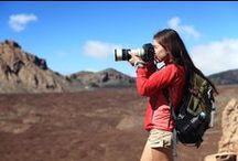 #Photos de voyage / Dans ce tableau, Picthema vous livre ses idées originales pour des photos de vacances réussies!