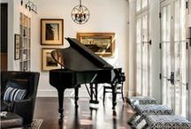 interior design: pianos
