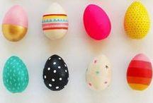 ../*o..Idées pour Pâques..o*\.. / Trouvez de nouvelles idées pour fêter Pâques!  Créez vous mêmes vos œufs de Pâques, des petits lapins, osez le chocolat en couleur, ou confectionnez vos emballages. Soyez créatifs !