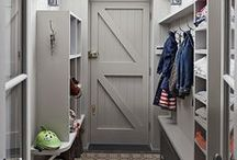 interior design: bootroom / mudroom