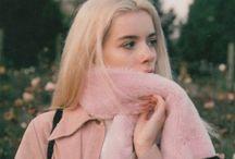 marie. / [la rose de Paris.]   colour aesthetic board  