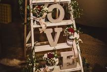 Christmas Weddings / A few ideas to help you with your perfect Christmas wedding!