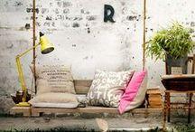 ♦ JARDIN ♦ / Des DIY pour décorer un petit coin de paradis juste derrière la maison.