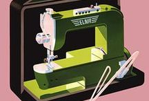 Sewing machine ads