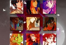 The HoO girls / This a board for the girl characters In the HOO series. Invite any one you want. Last of all have FUN!