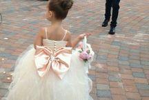 Bridesmaids & Flowergirl dresses