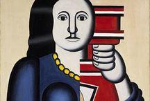 ART: Kubisme /  Het kubisme is een stroming binnen de moderne kunst van het begin van de 20e eeuw. Het is een van de vier grote schilderstijlen (naast het dadaïsme, het expressionisme en de abstracte kunst) in de Europese schilderkunst van de 20e eeuw. Het kubisme vierde zijn hoogtijdagen als avant-gardekunststroming in de periode van 1906 tot ca. 1920.  Kenmerken van het kubisme zijn: afgevlakt volume, verwarrend perspectief, collage, meerdere standpunten, stilleven, analytisch, synthetisch.  In het kubisme wordt gebruikgemaakt van verschuivende standpunten. Een tafel kan vanuit verschillende hoeken worden bekeken. Van bovenaf als men staat, vanaf de zijkant als men zit, of van onderaf als men iets van de vloer wil oppakken. Kubisten proberen dit in een schilderij te verwerken.  In het kubisme wordt geen onderscheid gemaakt tussen driedimensionale vormen die naar de kijker toe buigen en vormen die van de kijker af moeten buigen. Kubisten maken vormen vlak en vermenigvuldigen ze dan waardoor platte vlakken met veel patronen in zachte kleuren worden geschilderd gezien vanuit verschillende hoeken.  Het woord kubisme hangt samen met kubus. De kubisten deden net alsof de natuur alleen maar bestond uit kubussen, kegels en bollen. Alles werd dus met deze vormen getekend.  Het meest kenmerkende van het kubisme is de vereenvoudiging van alles. Kleur was niet zo belangrijk. Men gebruikte geen felle kleuren, alleen maar grijsachtige en bruine tinten. Kleur werd in een later stadium wel weer belangrijk.  Er werd een hoofdvorm getekend, maar ook de restvorm was belangrijk (het wit dat op een tekening overblijft, is de restvorm).  Belangrijke onderwerpen waren landschappen, mensen en stillevens.