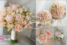 Wedding - Bouquets / Der Brautstrauß / by Anke H