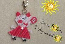 Bijoux per bimbi piccoli e grandi :-) / Gioielli realizzati a mano su ispirazione di personaggi dei cartoni animati