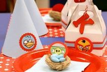 Angry Birds Birthday / Fødselsdagsfest, temafest, fest, Birthday, Birthday party, Angry Birds, Games for birthdays, decoration,