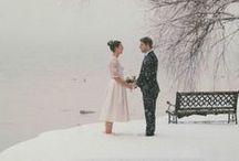 Wedding in winter / Inspiration for wedding in winter