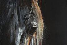 """Es ist nicht """"NUR"""" ein Pferd / Horsepainting in Acrylic Equine Art"""