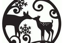 Christmas silluete ⛄ / Christmas silluete ⛄