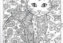 adult drawig / Βιβλία ζωγραφικής