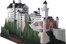 paper castle / paper castle and houses