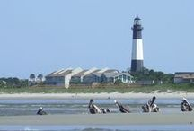 Georgia (Tybee Island) / Oh, I wish to be by the sea, the smell of the salty water and the sound of the waves crashing makes me feel closer to God.  I feel freer, more relaxed, and pensive.... / by CD Case