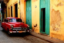 Cuba / Such beauty, culturally rich and magnificent architecture, a country seemingly untouched by time, where taxi drivers are reputed to quote Hemingway as they whisk you through the decay of modern-day Cuba.  / by CD Case