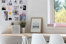 Décor Ideas: Office Spaces / Check out these inspirational #decor and #design ideas for your business's #office. Whether you're designing a school, hospital, or any other type of office, these ideas can help you get the most out of your design!