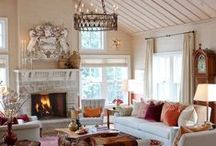 Fall Interior Design Ideas / See the latest fall trends and styles for your home décor!