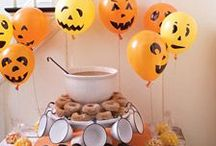 Halloween Party / Inspirations pour fête d'aHalloween.