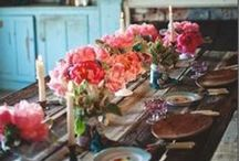 Tablescapes / by Ginger      ♥ Gordan