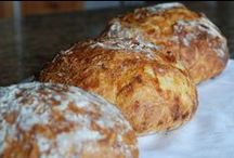 Food Stuffs - Well butter my biscuit... / Bread recipes for any time of day. / by Meredith (Burall) Miller