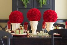 A Holiday Table / Tablescapes for cold-weather holidays / by Meredith (Burall) Miller