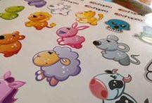 Pegatinas Personalizadas / Pegatinas personalizadas, impresión a todo color sobre vinilo; con la mayor calidad y troqueladas con la forma que quieras. Stickers, Pegatinas Para Coches, Adhesivos.
