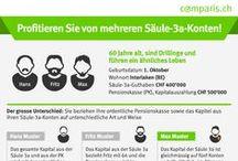 Infografiken / comparis.ch ist der führende Internet-Vergleichsdienst der Schweiz. Konsumenten können einfach und schnell vergleichen.