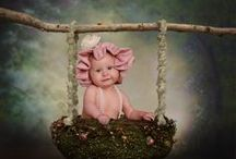 Newborns Baby Photography Portrait Ideas / Lots of Baby photo ideas, poses and props