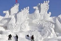 Ice & Snow Art / by Joan Woodin