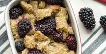 Healthy Blackberry & Raspberry Recipes / Healthy and delicious recipes starring Oregon Raspberries and Blackberries