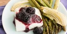 Savory Blackberry & Raspberry Recipes / Recipes for Oregon Raspberries and Blackberries that are not dessert!