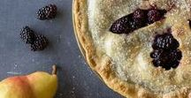 Pies - Blackberries and Raspberries / Pie.  Lots of pie.  Made with Oregon Raspberries and Blackberries.