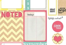 Printables / Freebies / You can print your labels for #scrapbooking