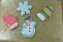 Decorated Cookies / Cut-Out Cookies decorated by Kretchmar's Professional decorators